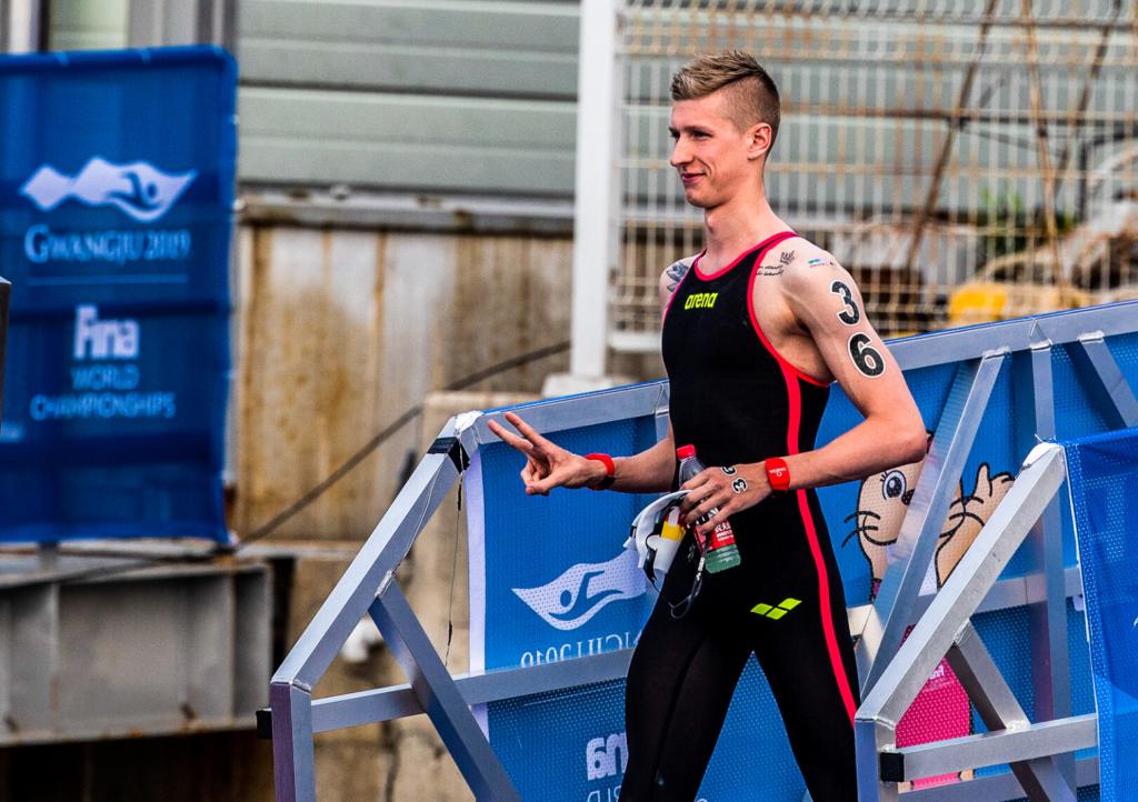 Heute vor einem Jahr: Florian Wellbrock wird 10km Weltmeister