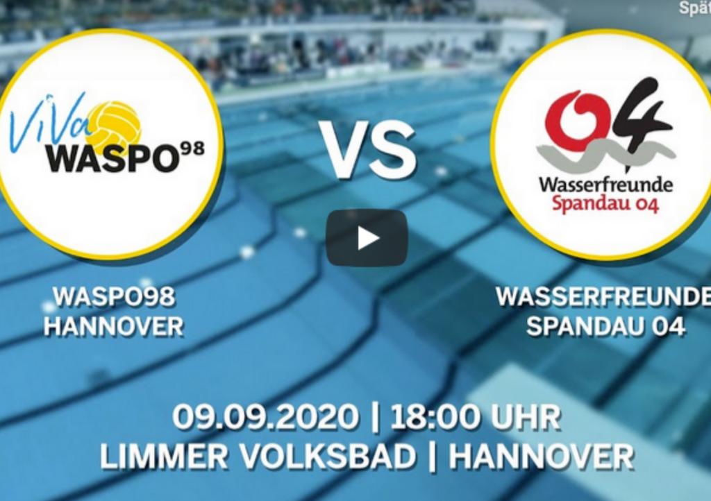 Spandau vs. Waspo: Das Wasserball-Finale im Livestream