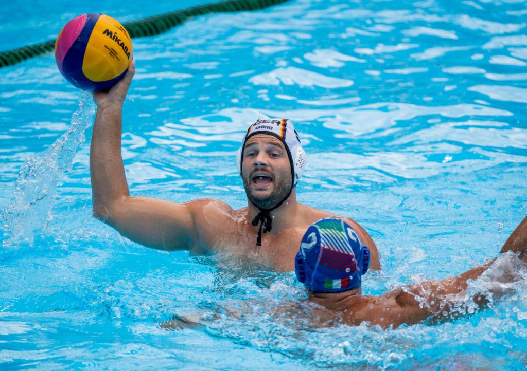 Deutschlands Wasserballer schlagen Georgien mit 18:9