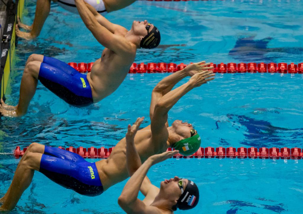 So läuft die DSV Olympiaqualifikation Beckenschwimmen im April in Berlin