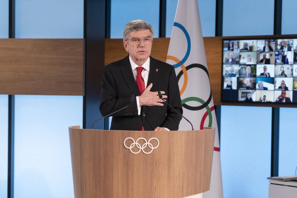 Thomas Bach bleibt bis 2025 IOC-Präsident