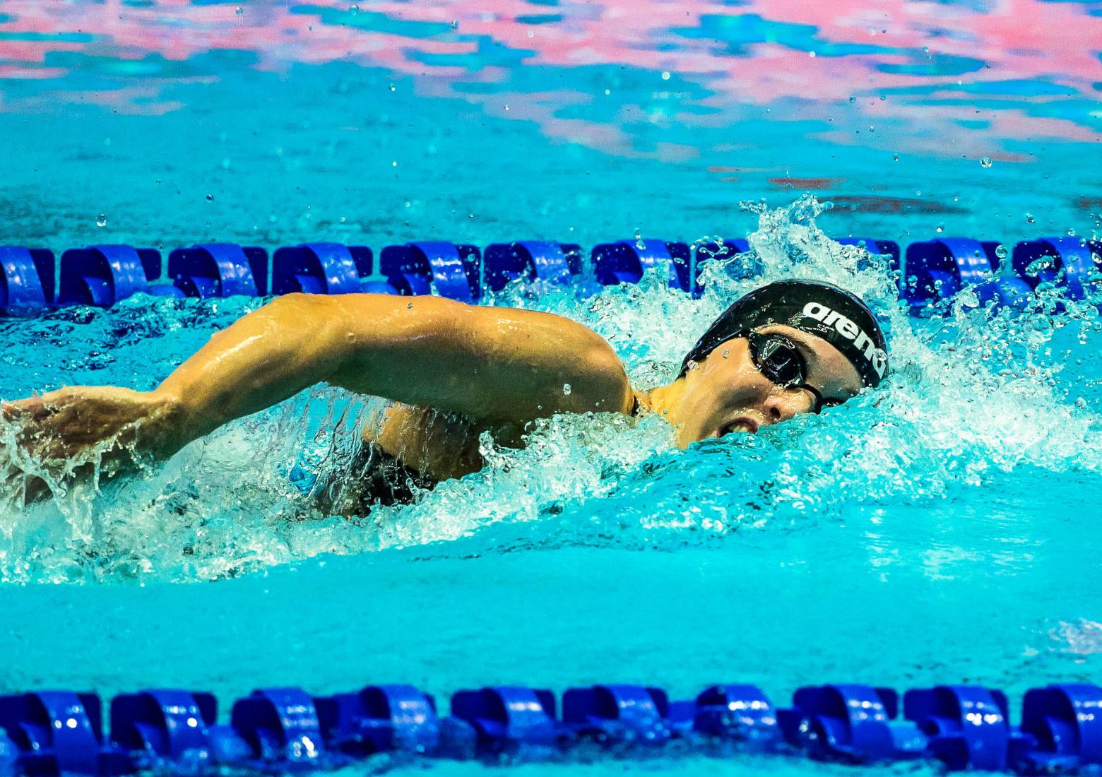 Marie Pietruschka setzt Zeichen für die Olympia-Staffel