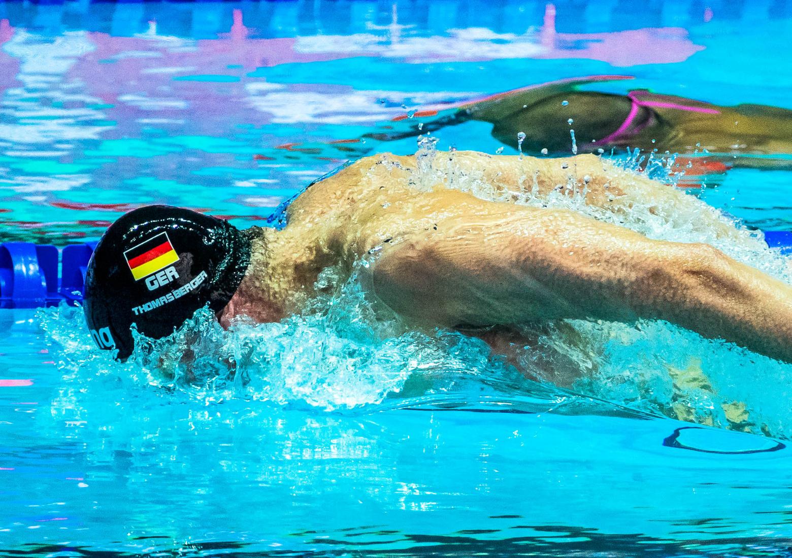 David Thomasberger eröffnet Olympiaquali mit Rekord
