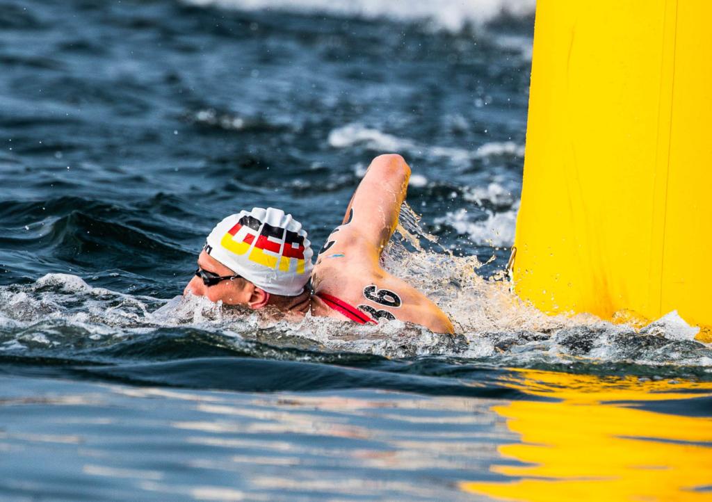 Florian Wellbrock setzt auch ohne Medaille ein Zeichen der Stärke