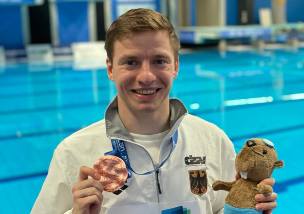Martin Wolfram mit Bestleistung zu Bronze