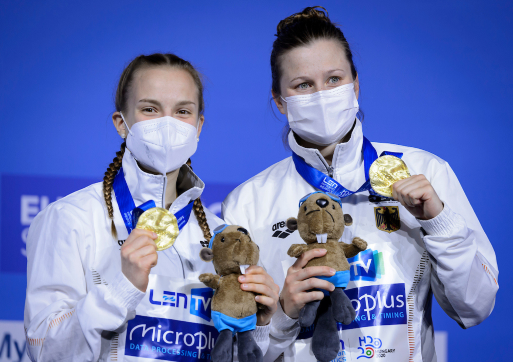 0,09 Punkte Vorsprung – Synchron-Duo gewinnt Gold