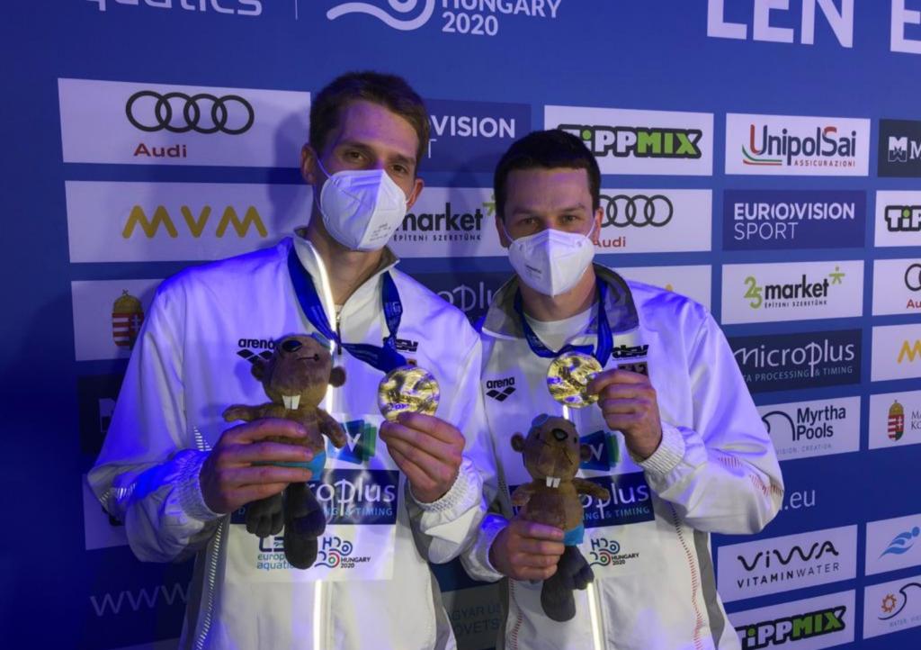 Patrick Hausding und Lars Rüdiger sind Europameister