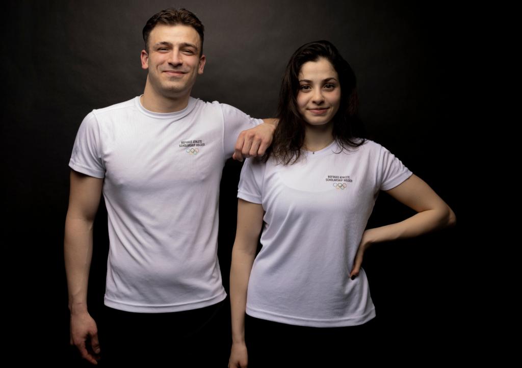 Yusra Mardini und Alaa Maso im Flüchtlingsteam für Tokio