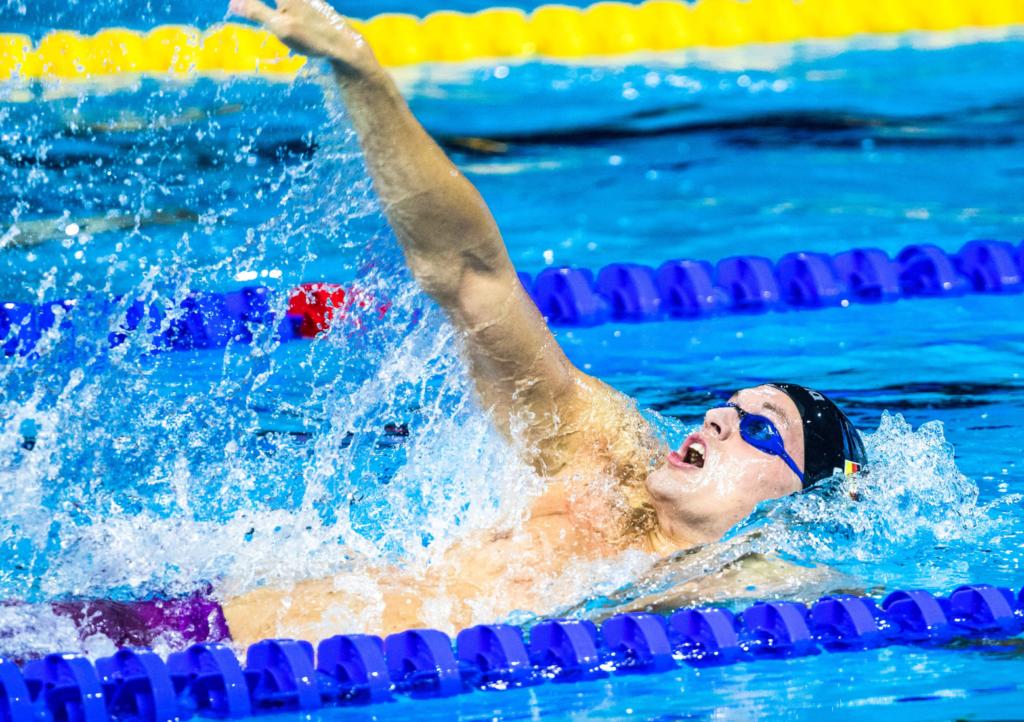 Marek Ulrich mit neuer Bestzeit im Halbfinale