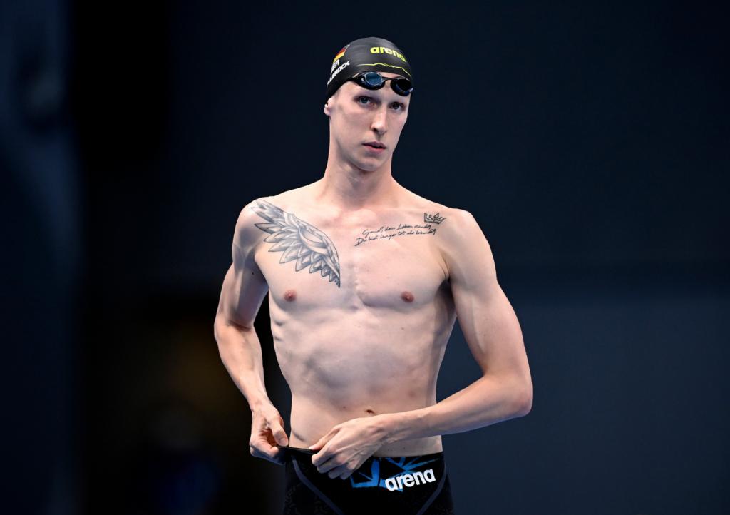 Florian Wellbrock wird Vierter über 800m Freistil