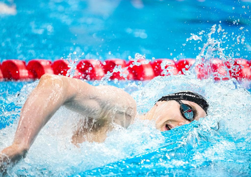 Henning Mühlleitner wird nach starkem Auftritt Olympia-Vierter über 400m Freistil