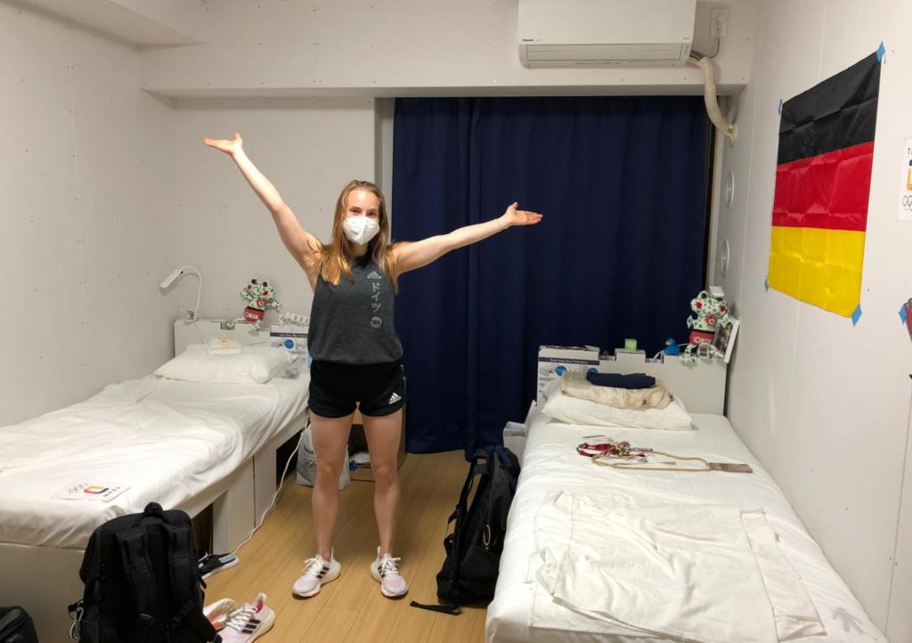 So leben die DSV-Asse im Olympischen Dorf