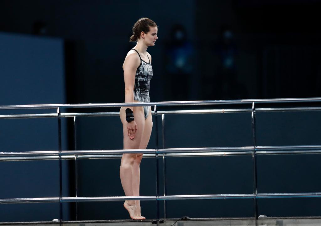 Elena Wassen schafft es ins olympische Finale vom Turm