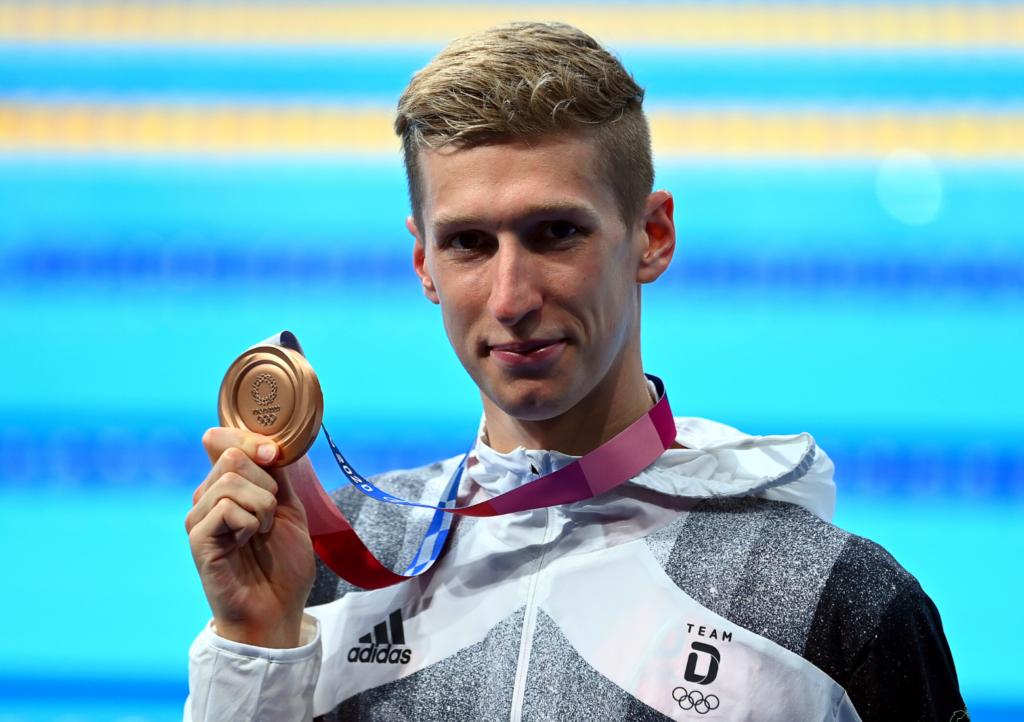 Bronze für Florian Wellbrock über 1500m Freistil